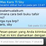 Pembelian Tafsir Ilmi di Jabodetabek, Serang, Bandung, Yogyakarta dan Surabaya